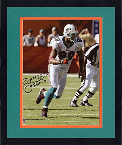 Fanatics Authentic Certified Jason Taylor Miami Dolphins Autographed White Panel Throwback Football withHOF 17 Inscription