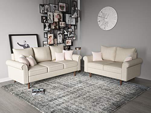 Container Furniture Direct S5428-2PC Circular Century Velvet