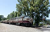 Napa St. Helen, CA - Photo - 24x16 - The Napa Valley Wine Train, a privately operated excursion train that runs between Napa and St. Helena, California - Carol Highsmith offers