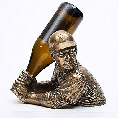Team Sports America Kansas City Royals Bam Vino Wine Bottle Holder