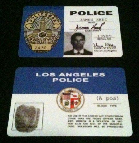 - James Reed Adam 12 70's Tv Show ID Card
