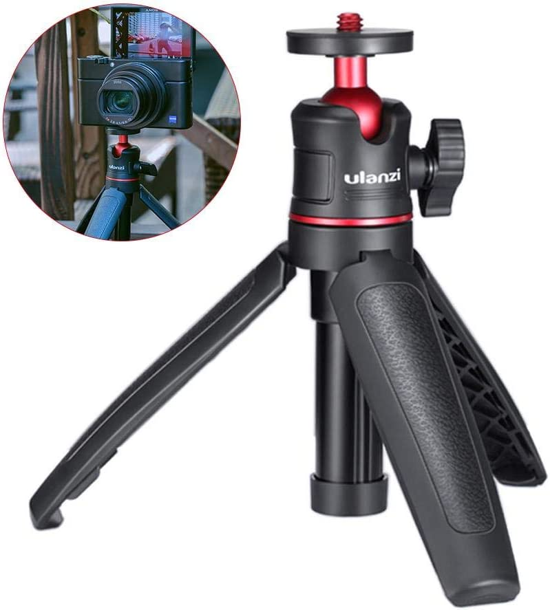 Desktop Extension Tripod Suitable for GoPro Universal Cameras Angelhood Handle Mini Tripod,Compact and Portable Tripod