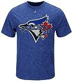 Majestic Toronto Blue Jays MLB Run Producer Mens Shirt Royal Big & Tall Sizes (3XL)