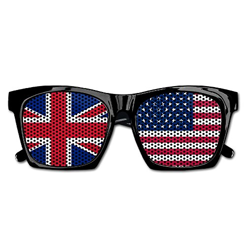Elephant AN Themed Novelty Flag Of Usa Uk Creative Visual Mesh Sunglasses Fun Props Party Favors Gift - Ray Bans Uk