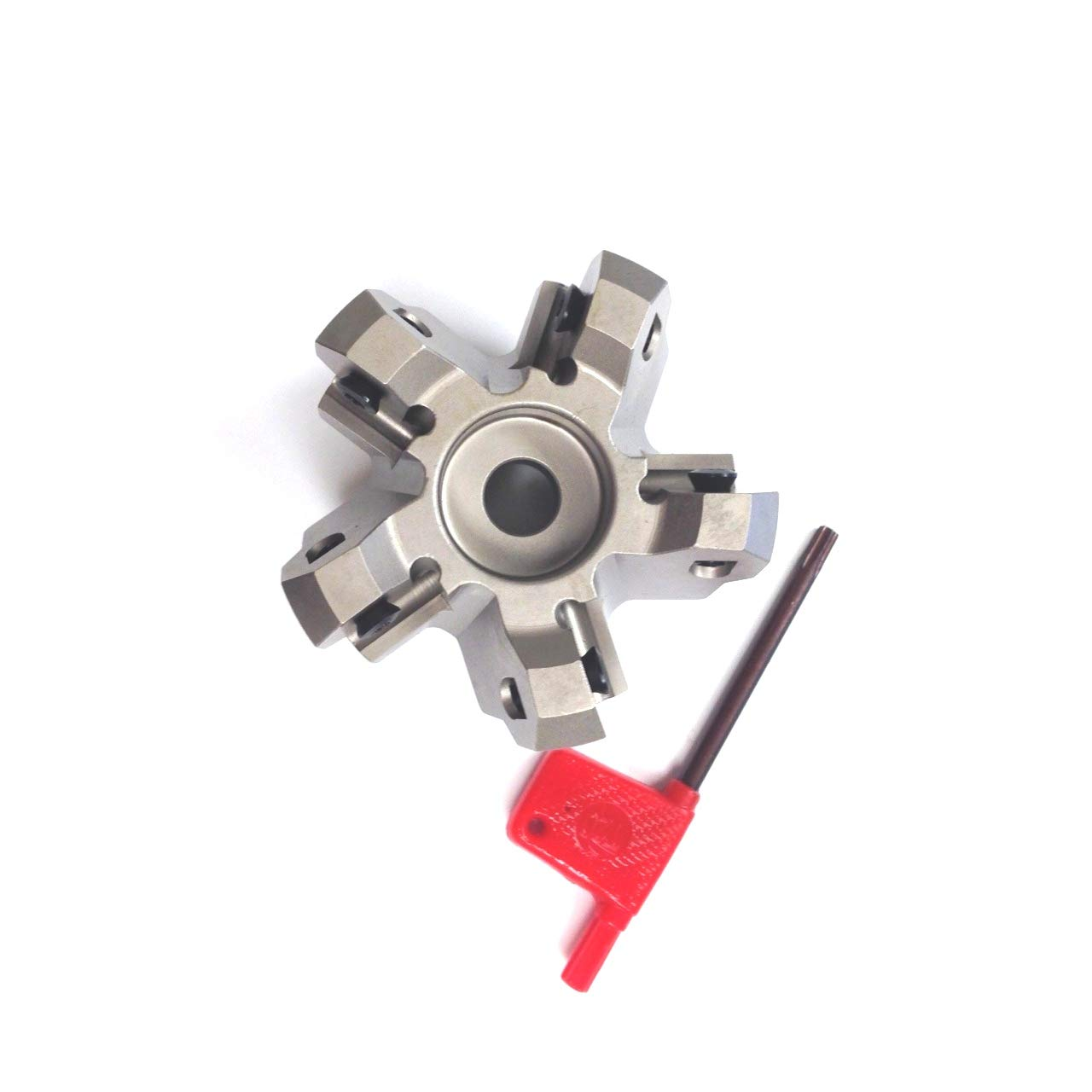 HHIP 2068-2500 2-1//2 x 3//4 Bore 45 Degree Octagon 5 Insert Index able Face Mill 1-3//4 OAL