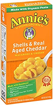 12-Pack Annie's Shells & Real Aged Cheddar Macaroni & Cheese