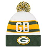 New Era Green Bay Packers Youth Retro Cuff Winter Hat