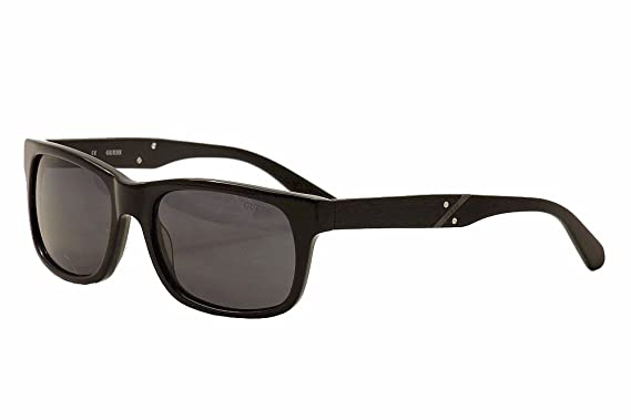 62b2cb6f39 GUESS GU 6809 Sunglasses C33 Black 55-18-140  Amazon.co.uk  Clothing
