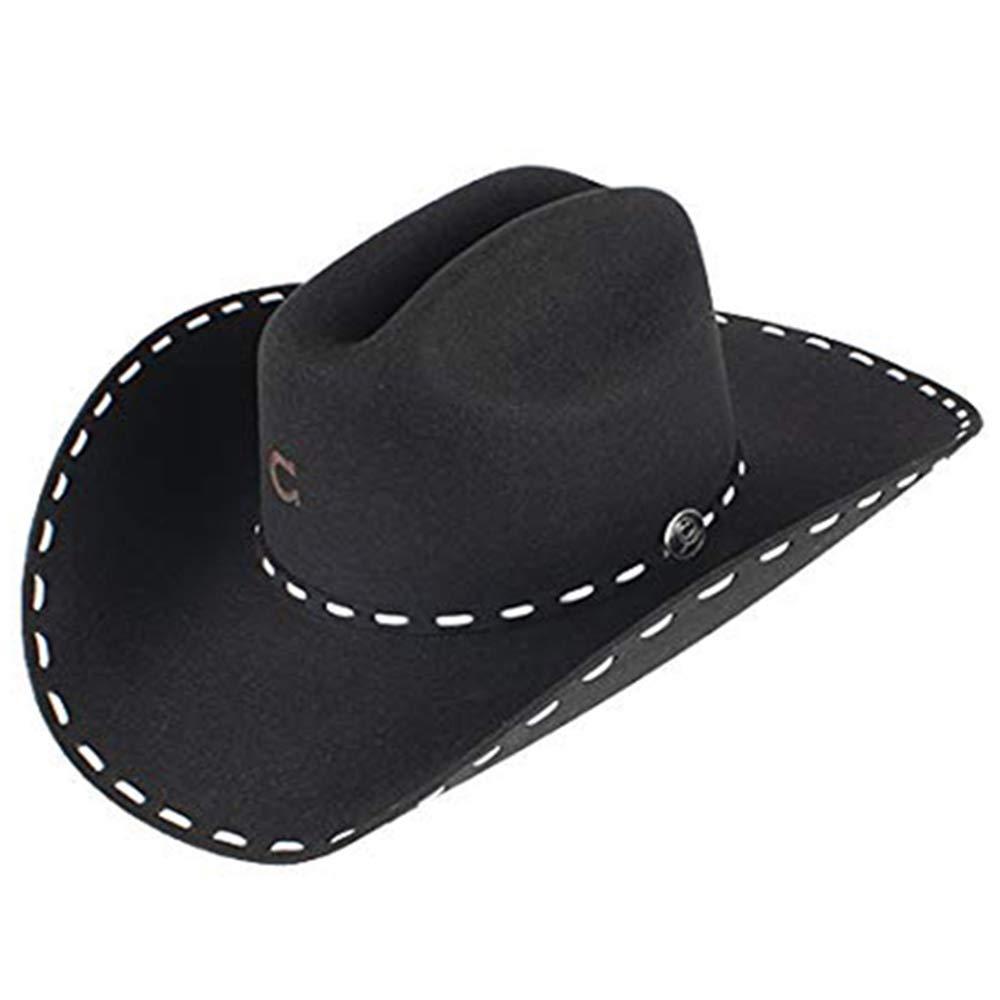 Charlie 1 Horse Black Buck Snort Hat 7 by Charlie 1 Horse (Image #1)