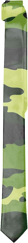 Mens Watermelon Camouflage Neck Ties Printed Slim Skinny Ties for Men