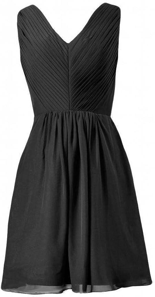 BM5194 DaisyFormals Short V-Neckline Party Dress Chiffon Lady Formal Dress