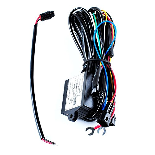 Headlight Control Relay - PODOY 12V DRL Daytime Running Light Relay Control Switch Harness for Auto Car Controller On/Off