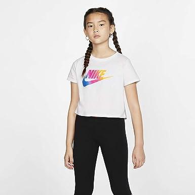 NIKE Sportswear Short T-Shirt Girls - Camiseta de Manga Corta ...
