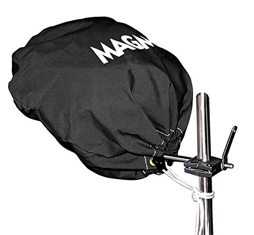 Magma Products, A10-191JB Cover (Jet Black), Sunbrella, Marine Kettle Grill Original (Magma Grill Cover)