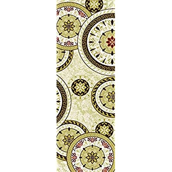 Amazon Com Adgo Collection Modern Live Beige And Red