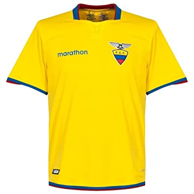 Ecuador Home Camiseta 2015 2016 amarillo Talla:large