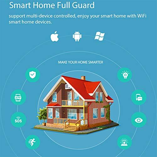RENYAYA Sistema de Alarma para el hogar con Detector de ...