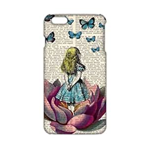 Slim Thin Lovely butterfly girl Phone Case for iPhone 6 plus