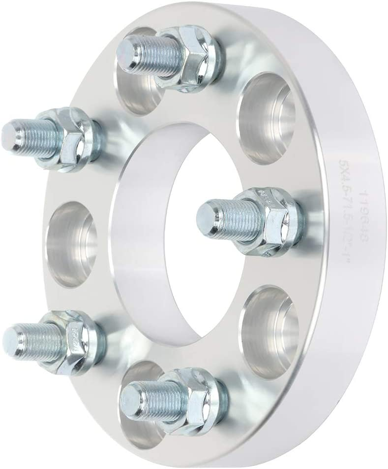 SCITOO 1 5x4.5 to 5x4.5 Wheel Spacers 5 Lug 5x114.3 1//2 71.5mm fits for 1993-1998 Jeep Grand Cherokee 2002-2007 Jeep Liberty