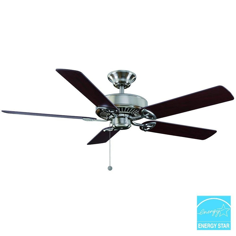 "Amazon Farmington 52"" Natural Iron Ceiling Fan Clothing"