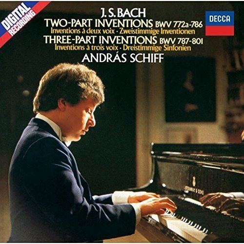 CD : SCHIFF,ANDRAS - Bach: 2 & 3 Part Inventions Etc. (Super-High Material CD, Japan - Import)