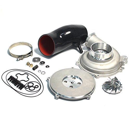 Powerstroke 7.3L GTP38 Turbo Bigger 66/88mm Billet Compressor Wheel DIY Upgrade Rebuild Kit