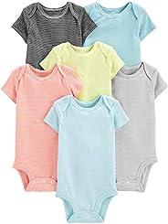Simple Joys by Carter's unisex-baby 6-pack Short-sleeve Bodysuit Body