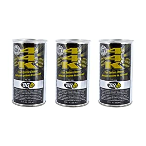 3 Pack Bg 44k Bg44k Fuel System Cleaner Power Enhancer 11 Oz Cans