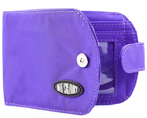 fold Purple Women's Wallet Slim Holds Big To Bi Up Taxicat Cards 25 Skinny Wpqnwn6Rf