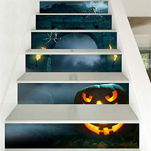certainPL 3D Stair Sticker DIY Steps Sticker Removable