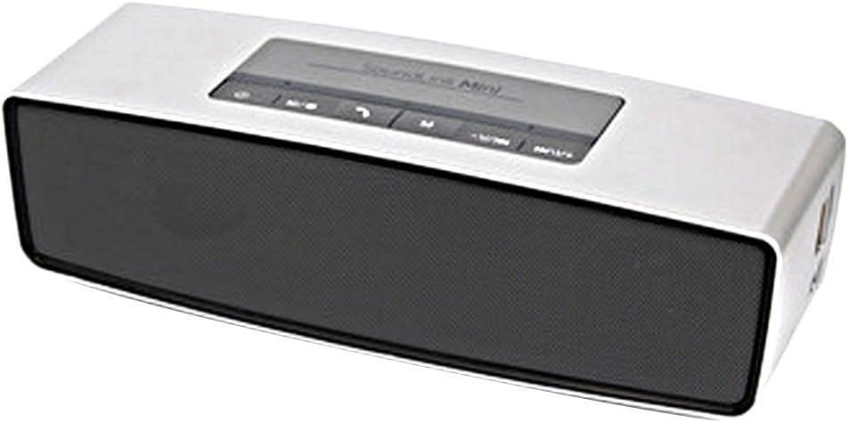 Altavoz Altavoces Parlantes 3d Surround Bluetooth HiFi Caixa de Som Soporte tarjeta SD Plata: Amazon.es: Electrónica