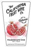 California Fruit Wine Pomegranate Wine 750 mL