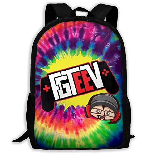 Fashion School Bag Family Game_FG Backpack Water Resistant College Student Rucksack Travel Laptop Backpack Daypacks Schoolbag Satchel For Boys Girls