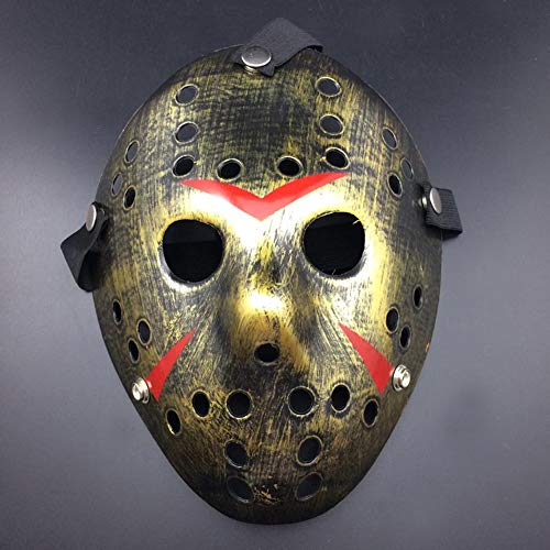 Ahmedy Halloween Mask, NO.13 Jason Voorhees Freddy Hockey Festival Party Mask, Halloween Masquerade -