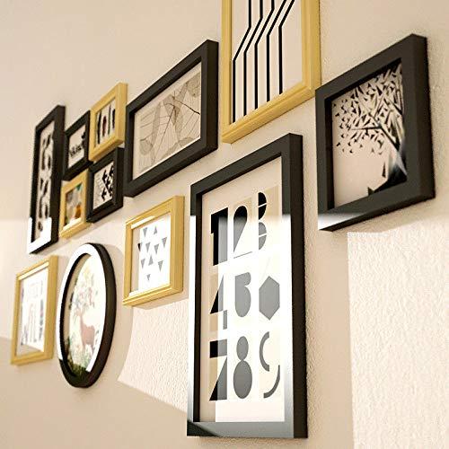 Muro fotográfico creativo / Muro creativo para portarretratos / Portaretrato de madera / Muro / Muro fotográfico creativo / Área de pared ocupada 152 * 77cm ...