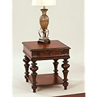 Progressive Furniture Mountain Manor Rectangular End Table