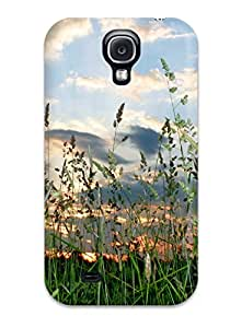 2412108K17618005 New Fashionable Cover Case Specially Made For Galaxy S4(grass)