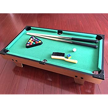 Amazon trademark mini tabletop pool set billiards game sts tands tabletop billards and pool table game greentooth Image collections