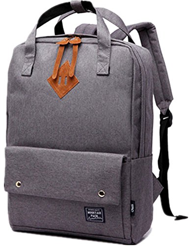 BLOOMSTAR Fashion Lightweight School Rucksack Laptop Schulter Tasche Casual Daypack Travel Rucksack (Blau) Gray MbBoE9cf