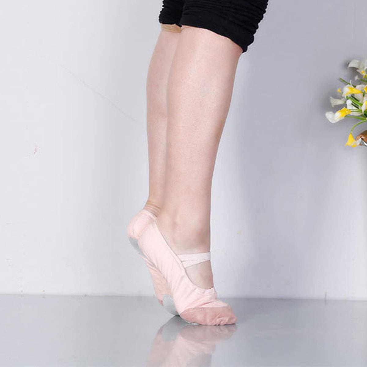 Color : 31 Ballet Dance Yoga Shoes Lady Kids Soft Sole Foot Protection Pointe Shoes