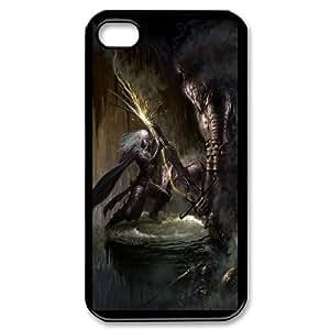 iPhone 4,4S Phone Case Undead Sword Books Fire Lightning N8U7869430