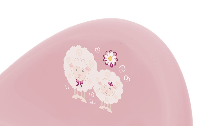 rosa ab 8 Monate bis etwa 3 Jahre 35 x 29 x 32 cm Kinder T/öpfchen Trend BIECO 11181711 ca mit Sch/äfchen Giraffen und Anti Rutsch Funktion