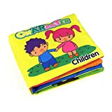 Gbell Kids Babies First Book! Learning with Color,Animals,Food,Number,Shapes,Character, Learn Picture Cognize Book for 0-3 Years Old Baby (E)