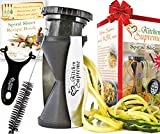 Spiral Slicer Spiralizer Complete Bundle – Vegetable Spiralizer and Cutter – Zucchini Pasta Noodle Spaghetti Maker