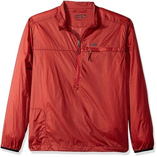 Mountain Khakis Men's Static Peak Pullover, Rojo, Medium