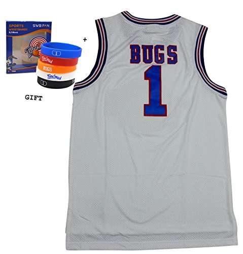bugs-bunny-space-jam-jersey-basketball-jersey-tune-squad-medium-white