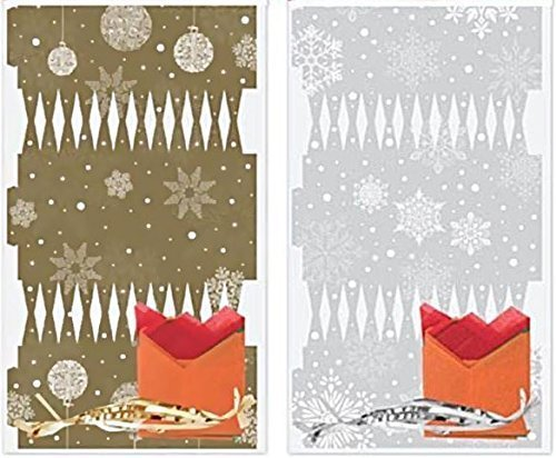 Assorted Colour 6 DIY Make Your Own Cracker Kit Hat Snap Joke Family Gift Present Christmas Festive Party Snowflake