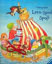 Mein großer Lern-Spiel-Spaß: Schnüren - Farben - Zahlen - Gegensätze - ABC