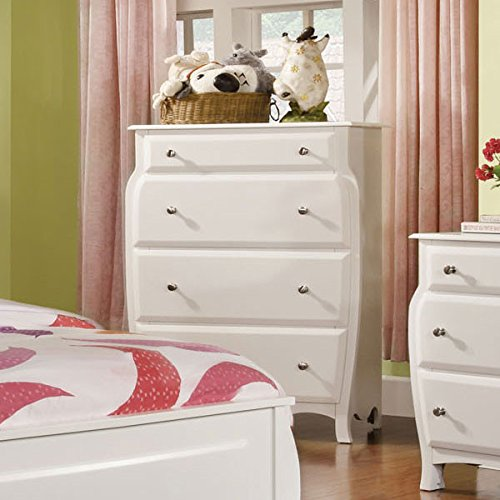 Roxana Cottage Style White Finish 6 Piece Full Size Youth Complete Bedroom Set by 247SHOPATHOME (Image #4)