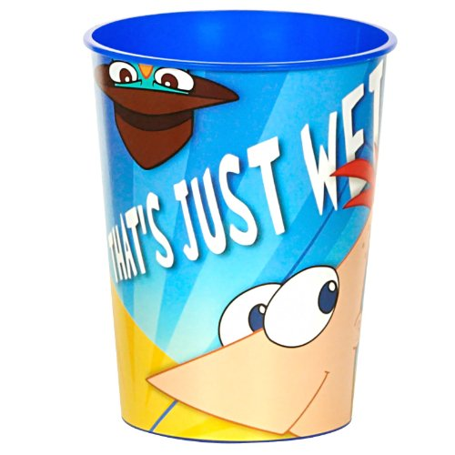 Phineas and Ferb 16 oz. Hard Plastic Cups ()